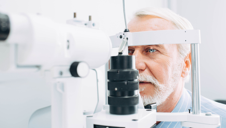 Senior Eye Exam