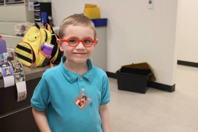 Pediatric Lab Sees 10,000th Patient!