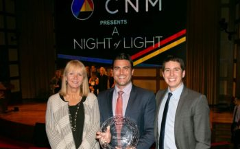 "Rebion and Retina Foundation partnership award presentation at ""A Night of Light"""