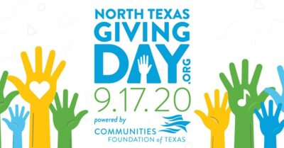 2020 North Texas Giving Day Banner