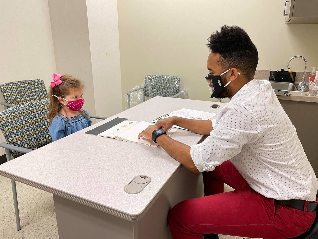 Investigating Reading Readiness in Preschool Children with Amblyopia (Lazy Eye)